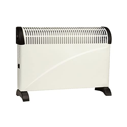 Vent Axia VACH2-TC 2 KW Portable & Wall Mountable Convector Heater with 3 Heat Settings and Silent Operation