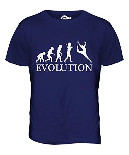 CandyMix Gerätturnen Evolution Des Menschen Herren T Shirt Navy Blau