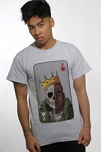 T-shirt Notorious Big Berysquad Card Games Homme Streetwear