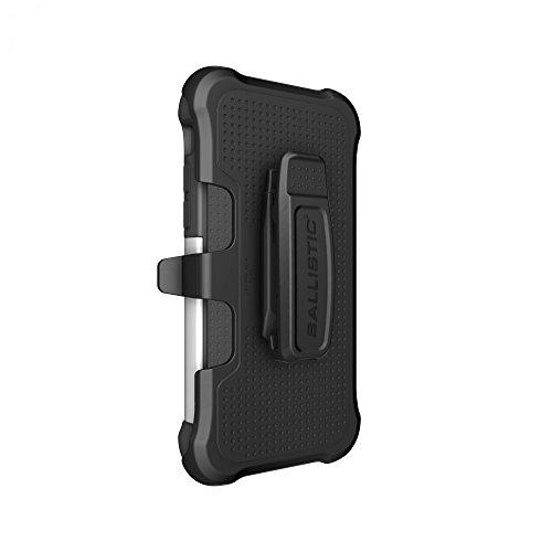 Ballistic Tough Jacket MAXX für iPhone 6 schwarz TPU/weiß PC/schwarz Silikon - schwarz Halfter - TX1416-A08E - Co Halfter