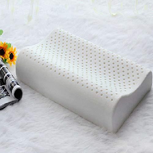 Latex-Kissen Thai Natural Gummi-Kissen Latex Massage Kissen Hals Health Care Cervical Kissen Arzt-entworfen für Hals