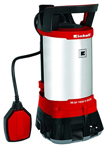 Einhell 4170700 Pompa Immersione Acque Scure Ge-DP 7935 N Eco, Prevalenza Max. 9 M, 790 W