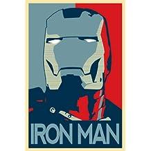 Iron Man 3 Poster On Silk <60cm x 90cm, 24inch x 36inch> - Cartel de Seda - 9AE146
