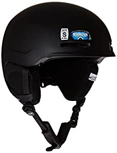 Smith Men's Maze-Ad Helmet - Matte Black, 51-55 cm