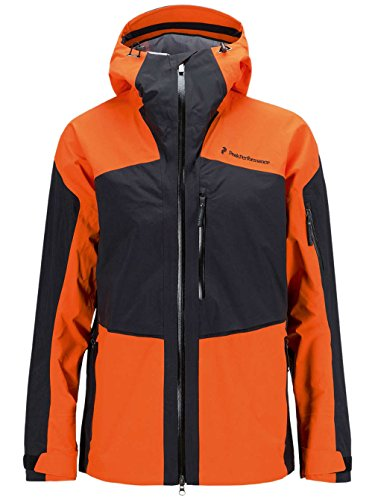 Peak Performance Snow Jackets - Peak Performance Heli Gravity Snow Jacket - Multi Col. A red orange