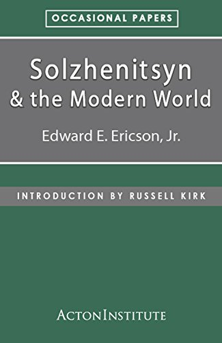 Solzhenitsyn and the Modern World (Occasional Papers Book 2) (English Edition)
