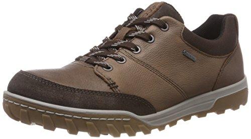 ECCO Herren URBAN Lifestyle Sneaker, Braun (Coca Brown 57008), 41 EU - Nubuk Leder Keil