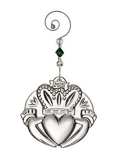 l Irish Claddagh Crystal Christmas Ornament by Waterford (Irish Christmas Ornamente)