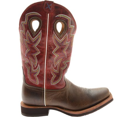 Twisted X Boots Stiefel HORSEMAN Westernreitstiefel Bomber Red