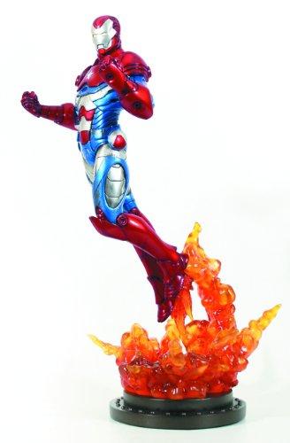 Iron Man Patriot polystone Statue