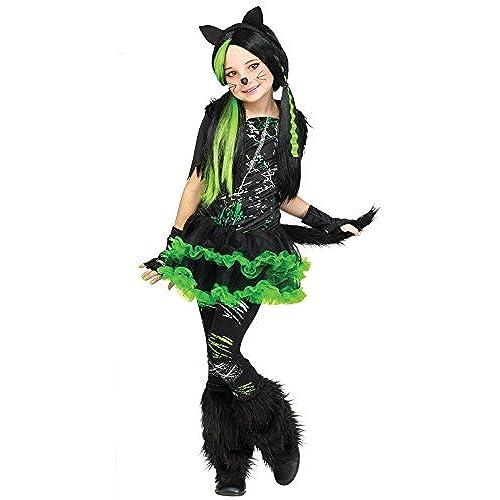Fun World Kool Kat Costume for Kids  sc 1 st  Amazon UK & Kids Cat Costumes: Amazon.co.uk
