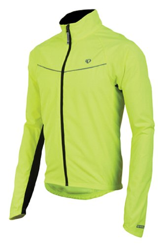Herren Select Barrier (PEARL IZUMI Thermojacke Men's Select Thermal Barrier Jacket Screaming Yellow (Größe: S))
