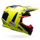 Bell Helme MX 2017moto-9Flex Erwachsene Helm, Schraubstock blau/gelb, Größe 2X L