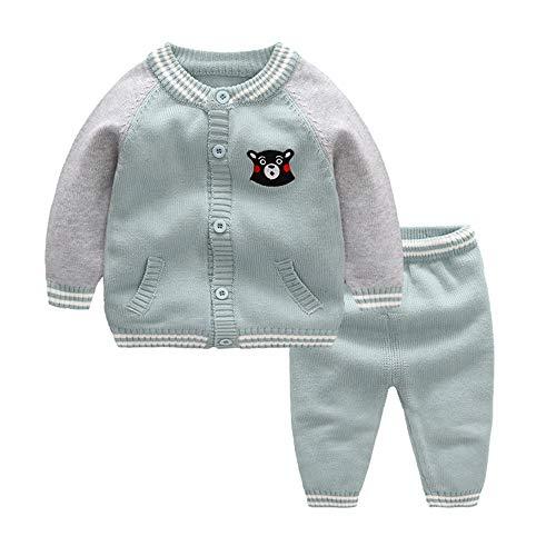 ZWS Herbst Und Winter Kinder Baseball-Uniform, Tops, Hosen, 66 cm (Hose Für Baseball-uniform, Kinder)