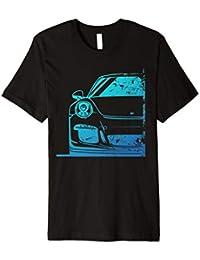 911 GT Street 2 Race RS Car Shirt Cyan