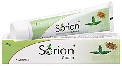 Sorion Creme - Psoriasis and Eczema Skin Care with coconut oil and Neem from Ruehe Healthcare