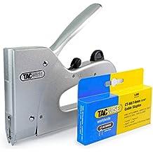 Tacwise 1247 - Grapadora de cables combi y caja de grapas para cables CT60/14