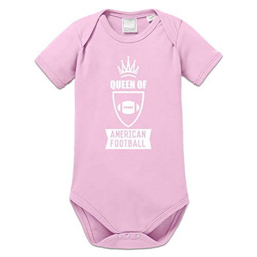 Queen Of American Football Baby Strampler by Shirtcity