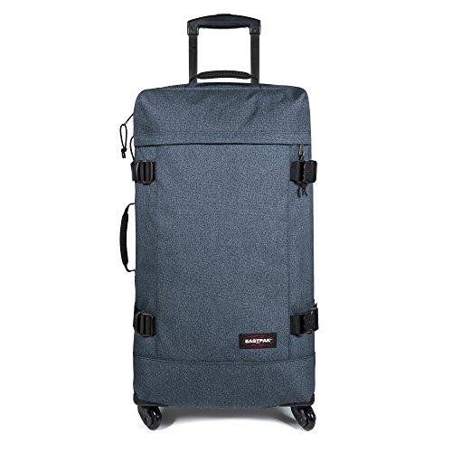 Eastpak Trans4 L Koffer, 75 cm, 80 L, Schwarz (Vorgängermodell) Double Denim