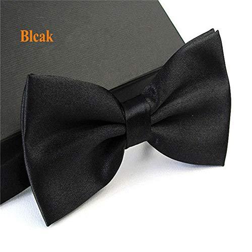 Tragen Bow Tie Tuxedo (WIFSBR Krawatte Men Tuxedo Bowtie Butterfly Bow Ties Fashion Wedding Party)
