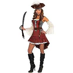 Disfraz elegante para mujer de pirata.