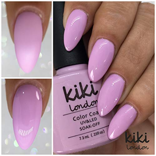 Cotton Candy - Parfait d'été Lilas/violet/mauve Gel de couleur - Convient pour UV/LED G4GADGET Qualité. par Kiki London