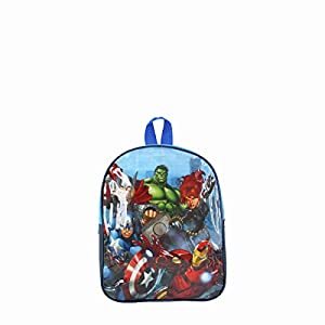 41KAhXdTciL. SS300  - Avengers mochila 28cm Avengers