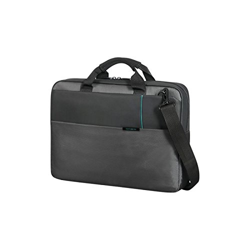 "Samsonite Qibyte Laptop Bag 15.6"" Bolso Bandolera, 11 Litros, Color Antracita"