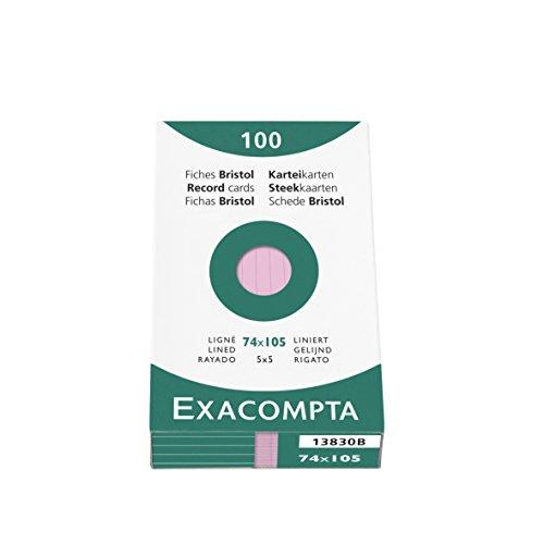 exacompta-13830b-cartoncini-bristol-7x10-cm-rosa