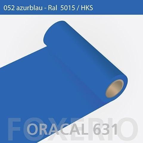 Your design vinilo adhesivo para armarios de cocina de - Oracal 631 - 31 cm rollo - 5 M (metro) - colour azul | Acabado mate, A23oracal - 631 - 31 cm -19 -