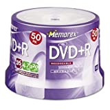 Imatn-Memorex Dvd+R Recordable Disc ,Dvd+R ,4.7Gb ,50/Spndl (Pack Of 4