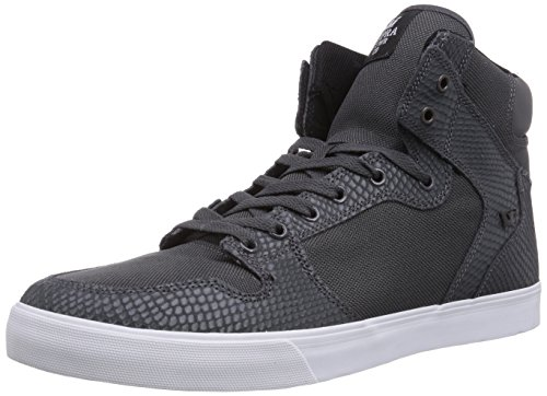 Supra Vaider, Baskets mode homme Gris (Grey / Snake - White     Gsn)