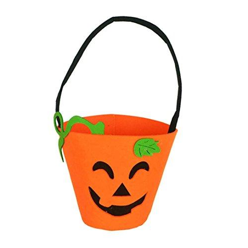 (Kinder Handtasche FOR Halloween Baby Mädchen Jungen Kürbis Tasche Kürbis Kind Candy Tasche Mini Süßigkeiten Tote Kinder Geschenke für Kinder oder Kostüm Party)