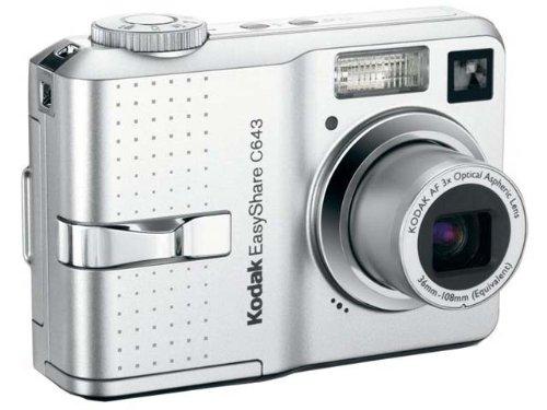 Kodak EasyShare C643 Digitalkamera (6 Megapixel) Kodak Easyshare