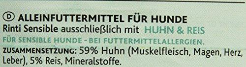 Rinti Hundefutter Sensible Huhn & Reis 800 g, 12er Pack (12 x 800 g) - 2