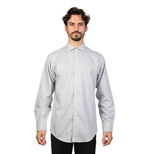Brooks Brothers 100040480_Grigio, Chemises Décontractées Homme Gris