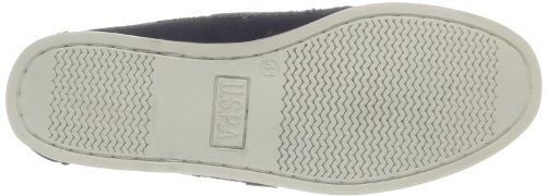 US Polo Assn Gage Canvas Dkbl, Mocassins homme Bleu (Dkbl)