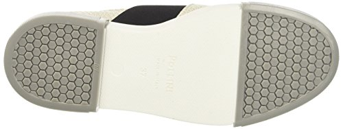 Pollini 64579, Sneakers basses femme Grigio (Ivory Mosaic Calf White-Stone Sole)