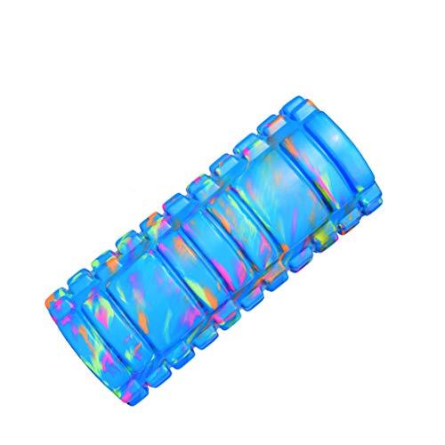 KKCD Schaumstoffrolle Tragbare Schaumstoffrolle - Muscle Roller für Tiefe Gewebe Muskelmassage - Ideal für Yoga, Pilates, Myofascial Release, Schmerzlinderung, IT-Band (Farbe : A)