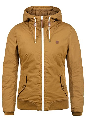 DESIRES Tilla Damen Übergangsjacke Jacke mit Kapuze, Größe:XS, Farbe:Cinnamon (5056)
