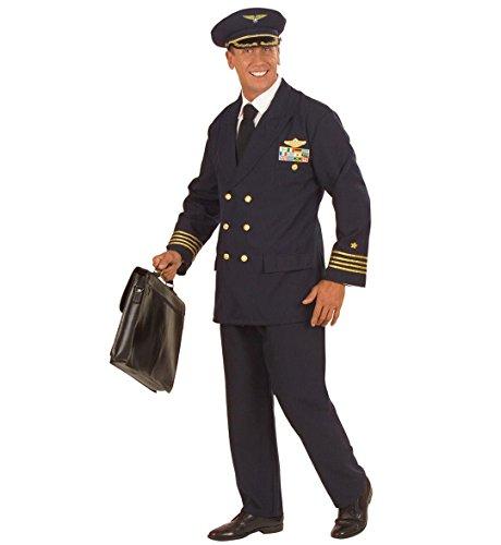 Widmann 57731 - Erwachsenenkostüm (Kinder Kostüm Flugzeug Piloten)
