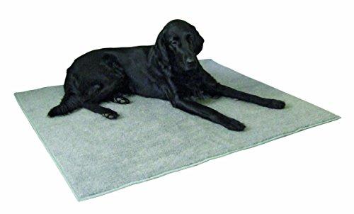 Artikelbild: Kerbl Thermoteppich, 125 x 80 cm Anti-Rutsch, grau