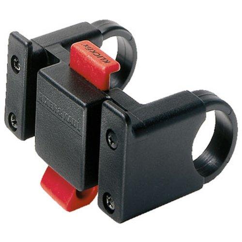 KlickFix Lenkeradapter / Lenkerhalterung für Taschen, Körbe oder Kartenhalter mit KLICKfix-Systhemhalteplatte -