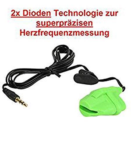 FINGERCLIP mit 2x Dioden Technologie zur superpräzisen Herzfrequenzmessung für KETTLER, Alternative zu OHRCLIP für Pulsmessung an KETTLER Geräten / Herzfrequenzmessung Cardio ear Puls clip / Pulsmesser