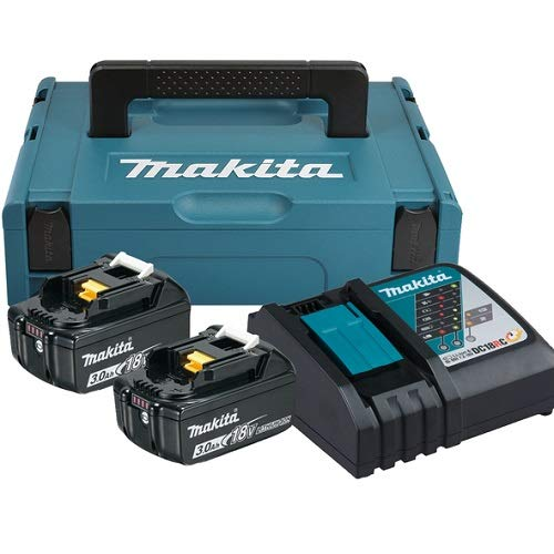 Makita 197952-5 Power Source Kit 18V 3Ah, 230 V, türkisschwarz
