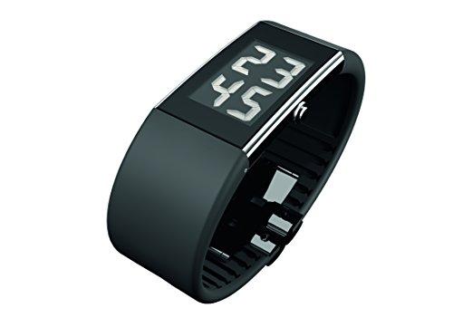 Rosendahl Watch II 43103 - Reloj de caballero de cuarzo, correa de goma color negro