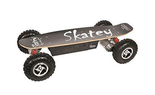 Kategorie <b>Elektro Skateboards </b> - SKATEY 800W black OFFROAD Elektrisches Longboard elektrisches Skateboard
