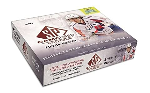 2013/14 Upper Deck SP Hockey jeu utilisé Hobby Box NHL