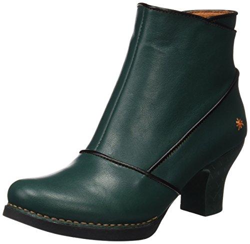 Art Damen Harlem Kurzschaft Stiefel, Grün (Star Petroleo 945), 38 EU Grüne Leder Stiefel