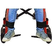 Cinturón de seguridad para silla de ruedas, con reposapiés, para personas mayores, accesorio